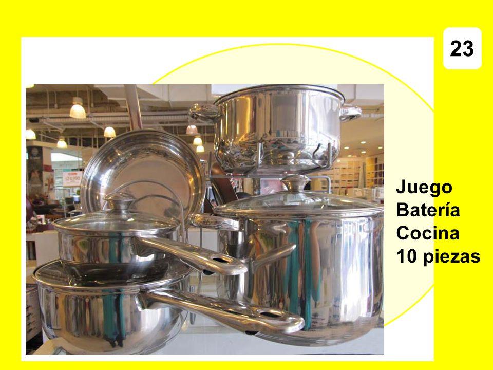 Juego Batería Cocina 10 piezas 23