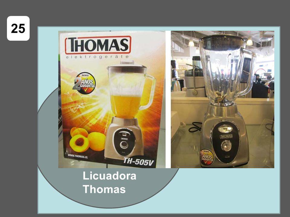 Licuadora Thomas 25