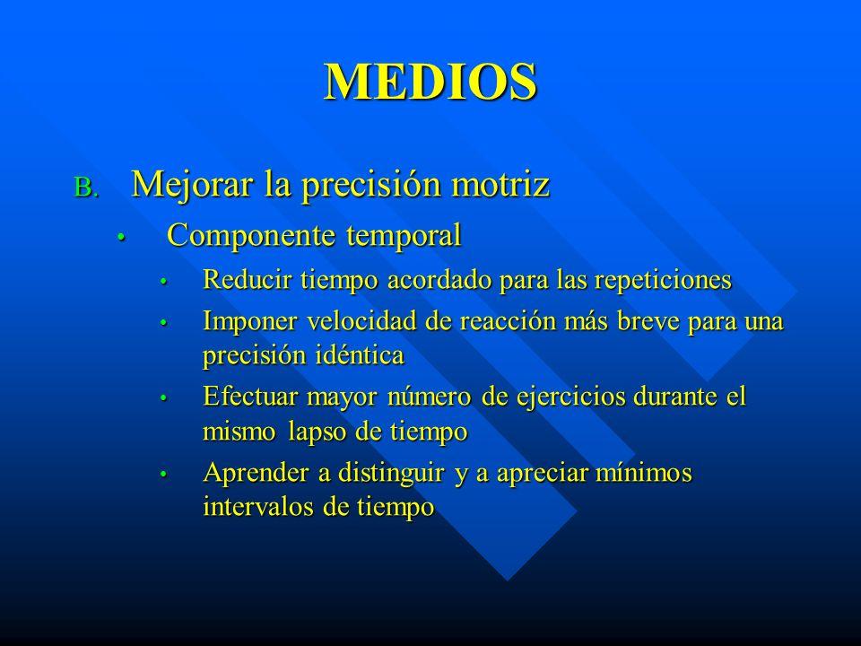 MEDIOS B.