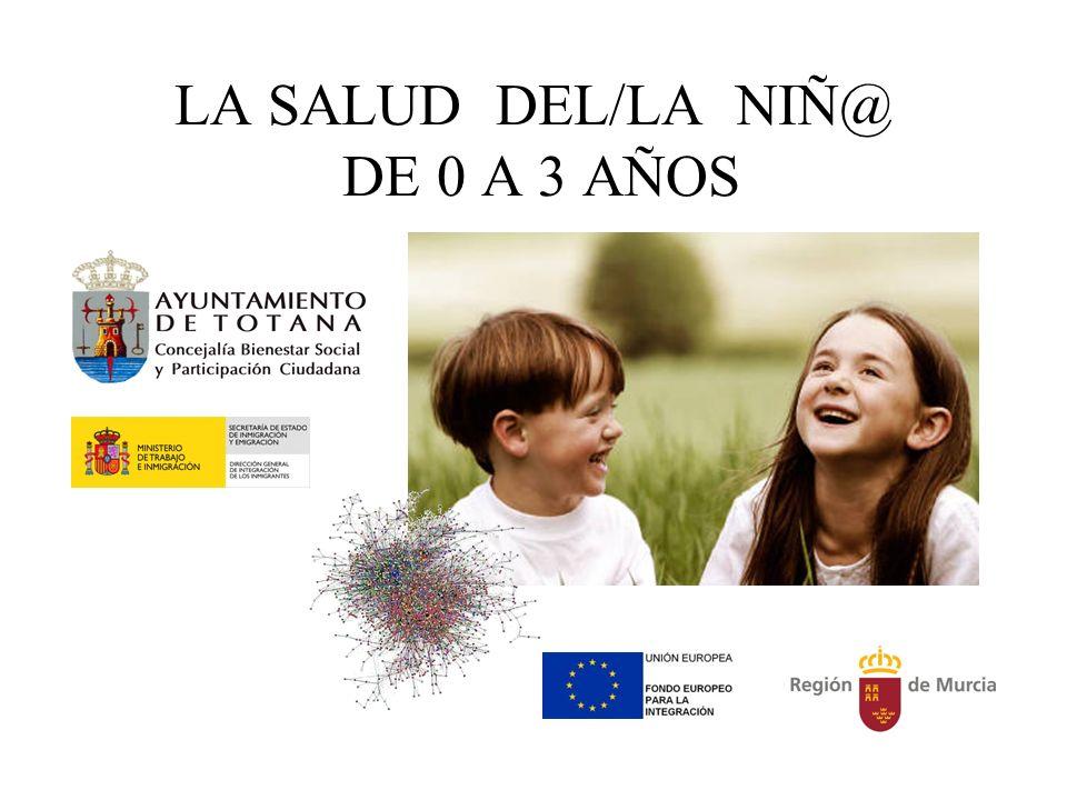 LA SALUD DEL/LA NIÑ@ DE 0 A 3 AÑOS
