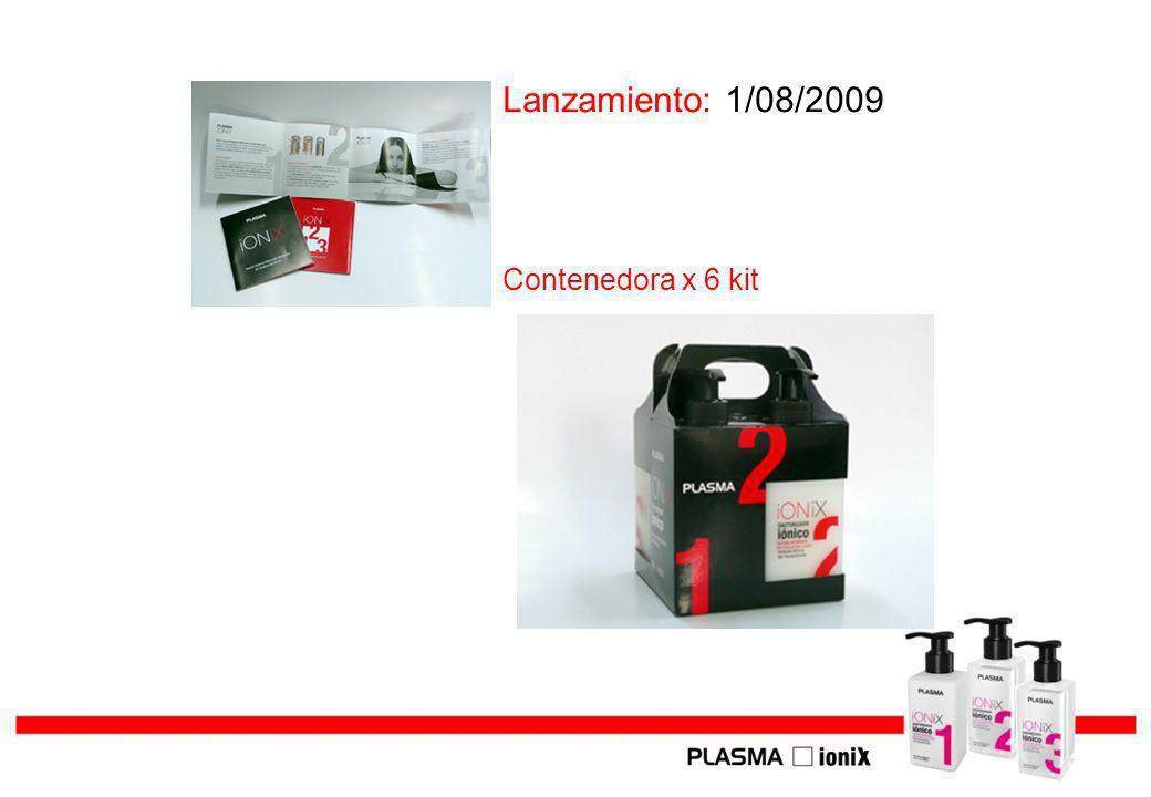 Lanzamiento: 1/08/2009 Contenedora x 6 kit