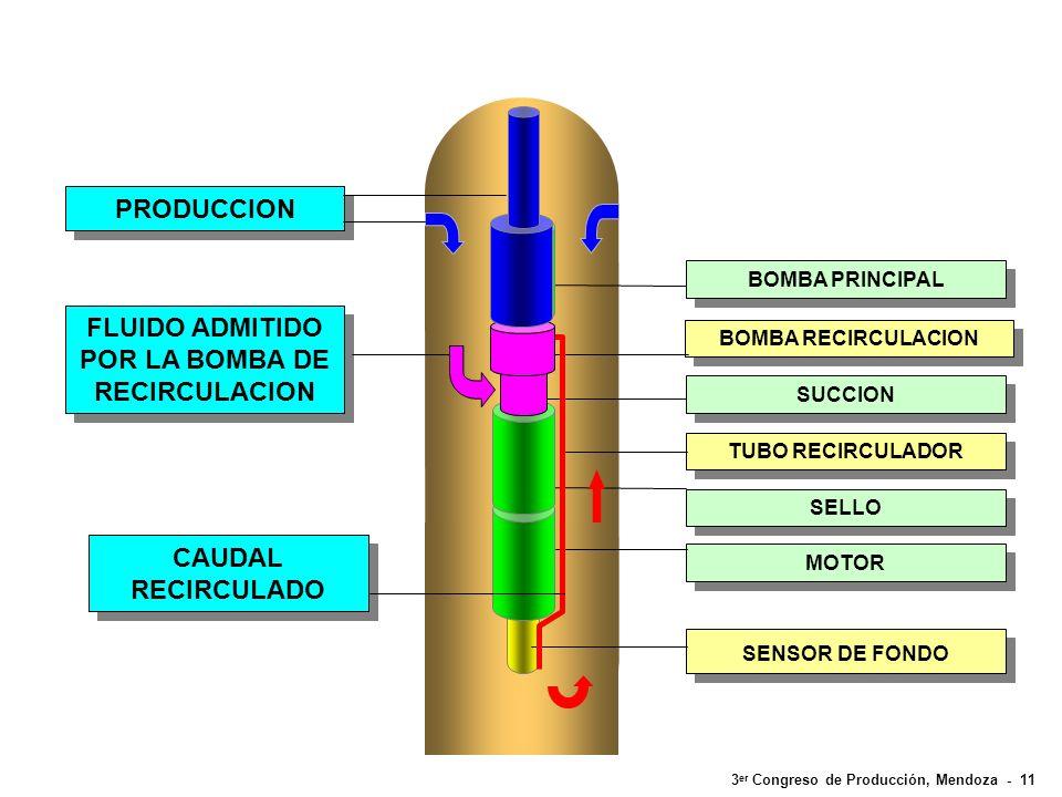 3 er Congreso de Producción, Mendoza - 11 BOMBA PRINCIPAL SUCCION SELLO MOTOR SENSOR DE FONDO TUBO RECIRCULADOR BOMBA RECIRCULACION CAUDAL RECIRCULADO