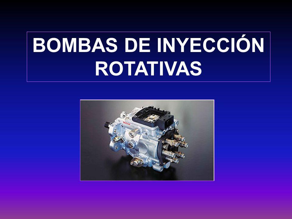 BOMBAS DE INYECCIÓN ROTATIVAS