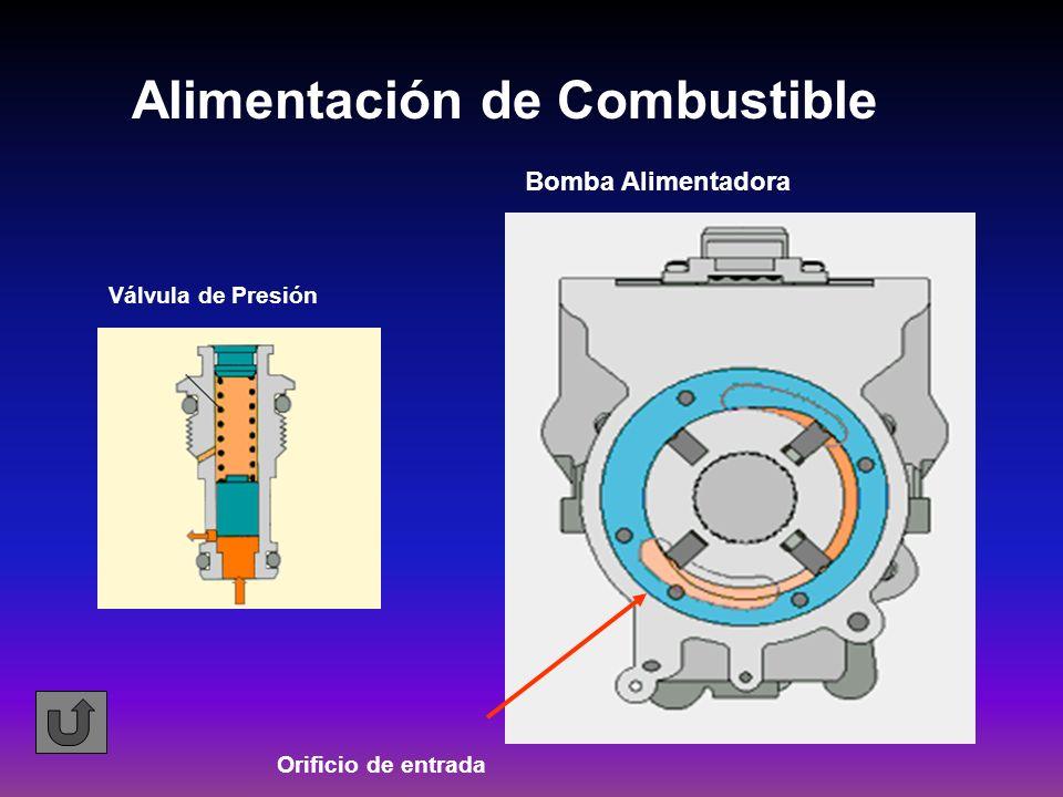 Alimentación de Combustible Válvula de Presión Bomba Alimentadora Orificio de entrada