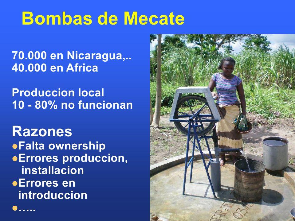 Bombas de Mecate 70.000 en Nicaragua,..