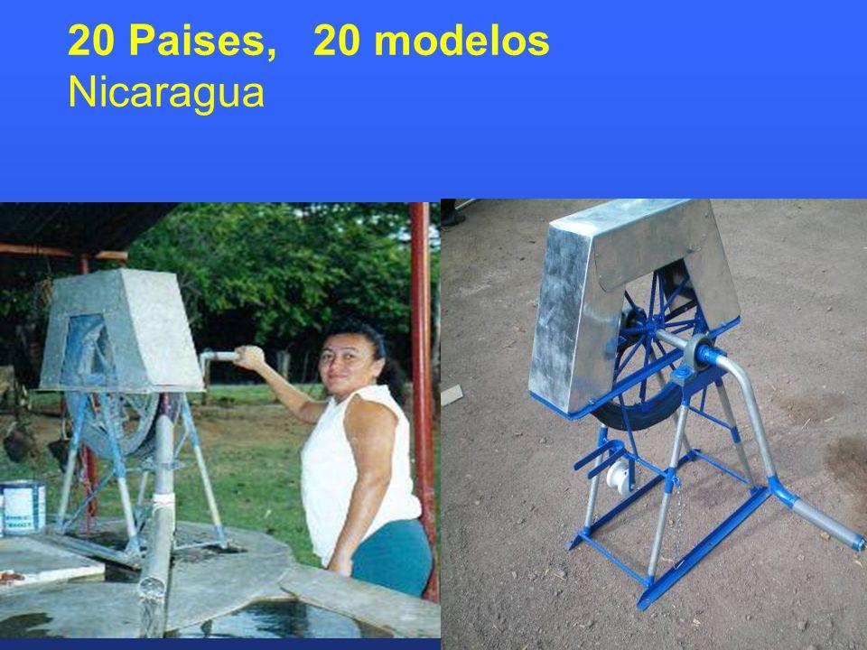 20 Paises, 20 modelos Nicaragua