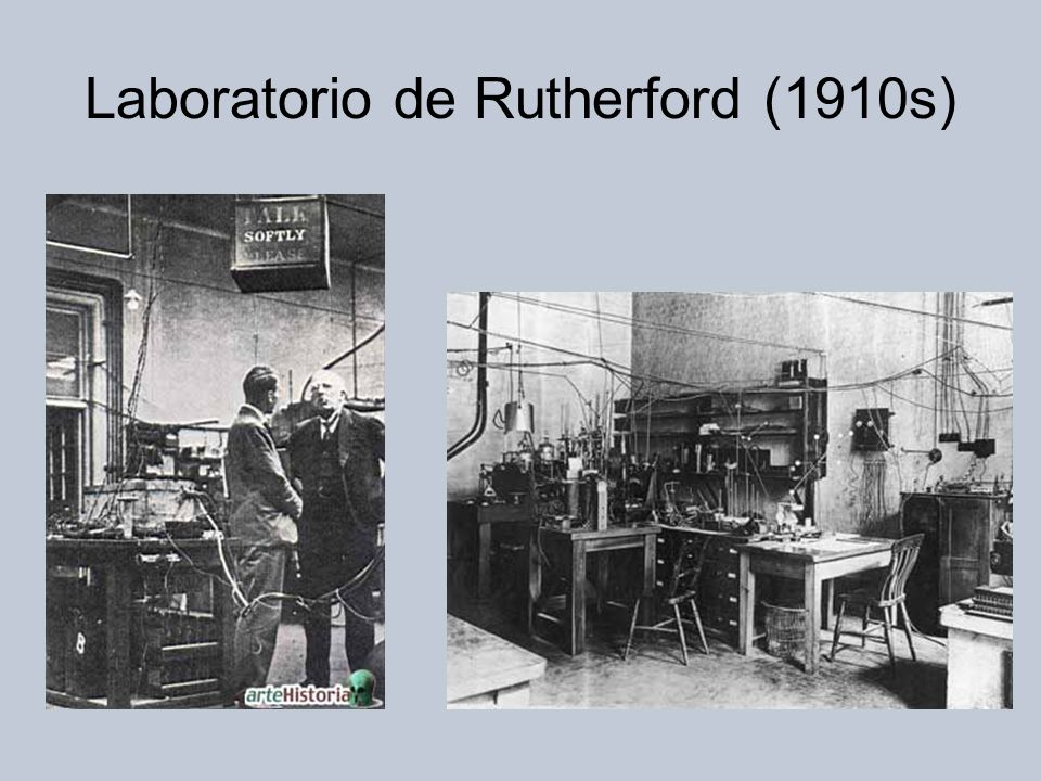 Laboratorio de Rutherford (1910s)