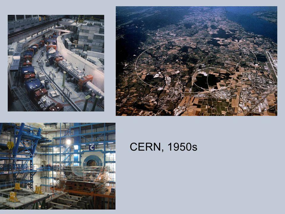 CERN, 1950s