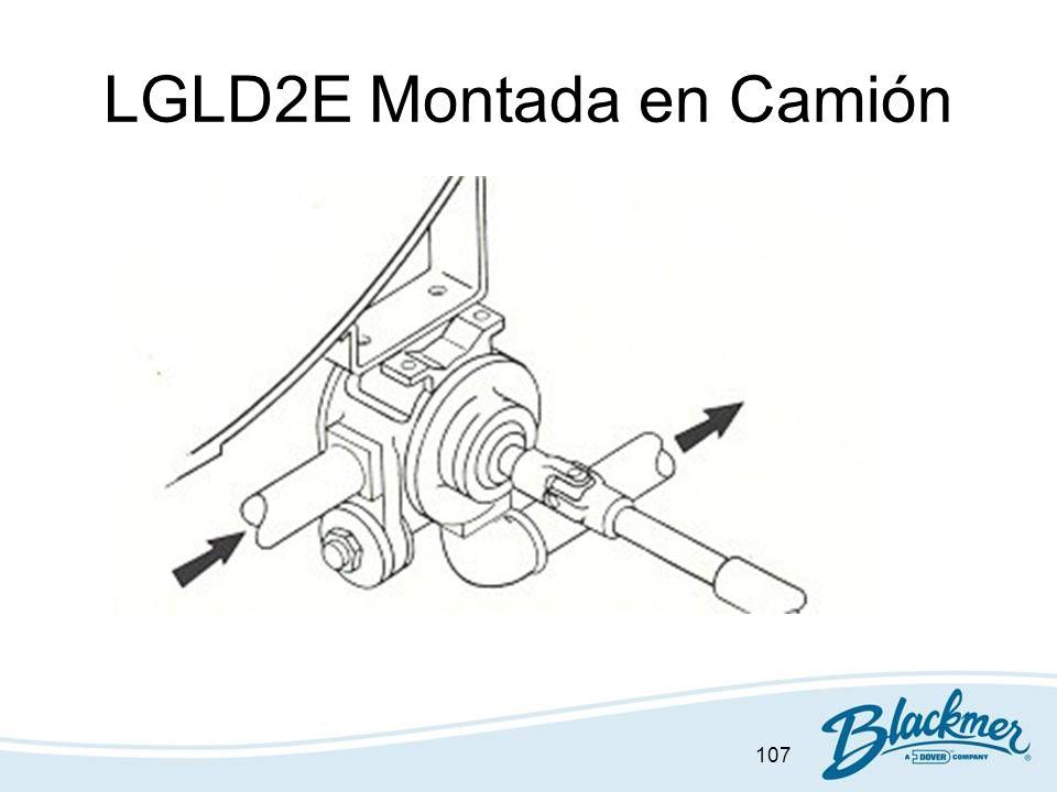 107 LGLD2E Montada en Camión