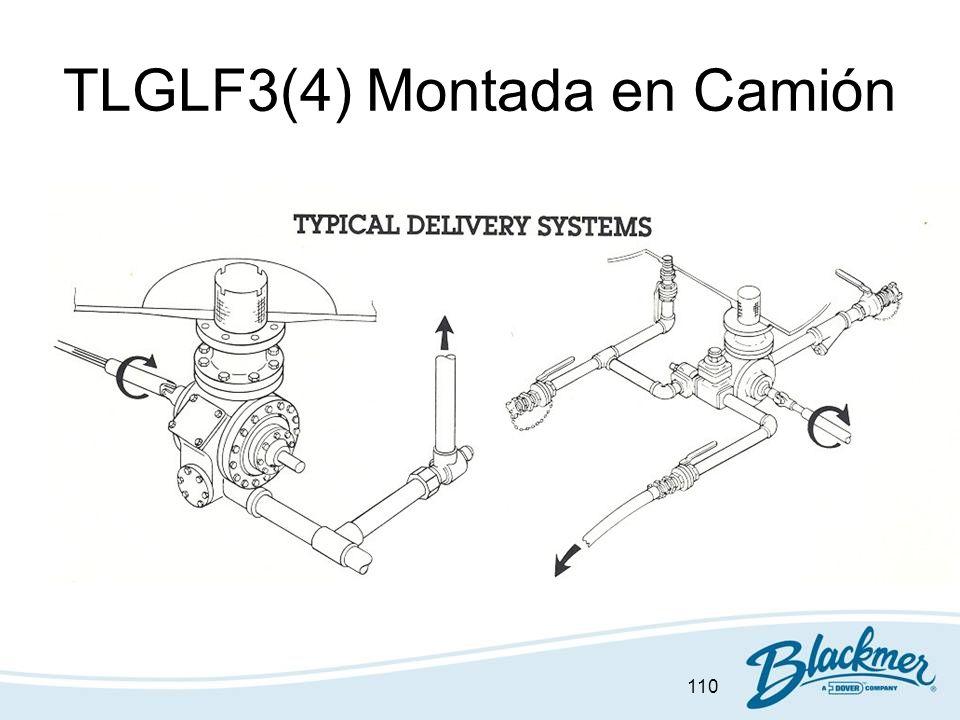 110 TLGLF3(4) Montada en Camión