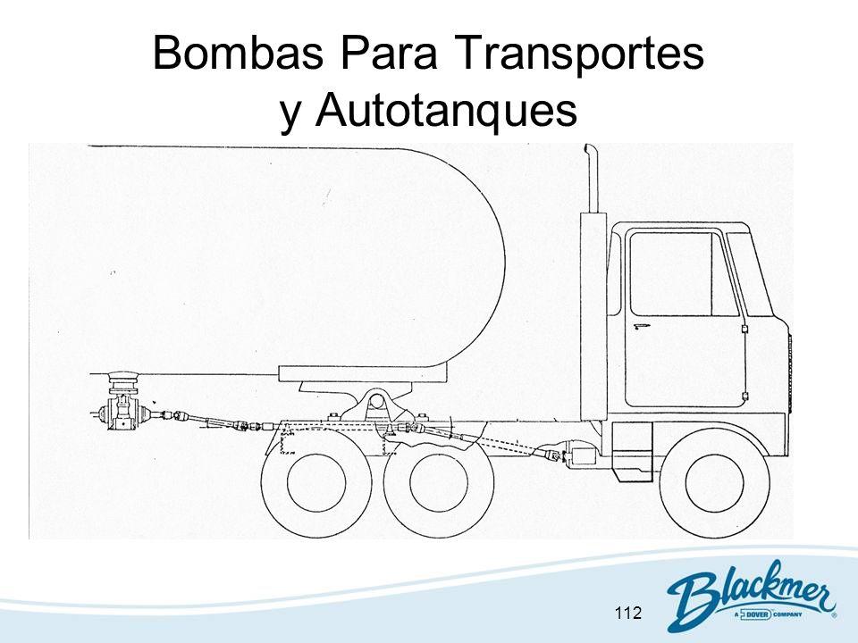 112 Bombas Para Transportes y Autotanques