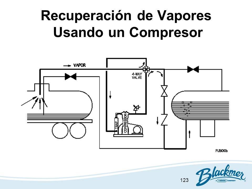 123 Recuperación de Vapores Usando un Compresor