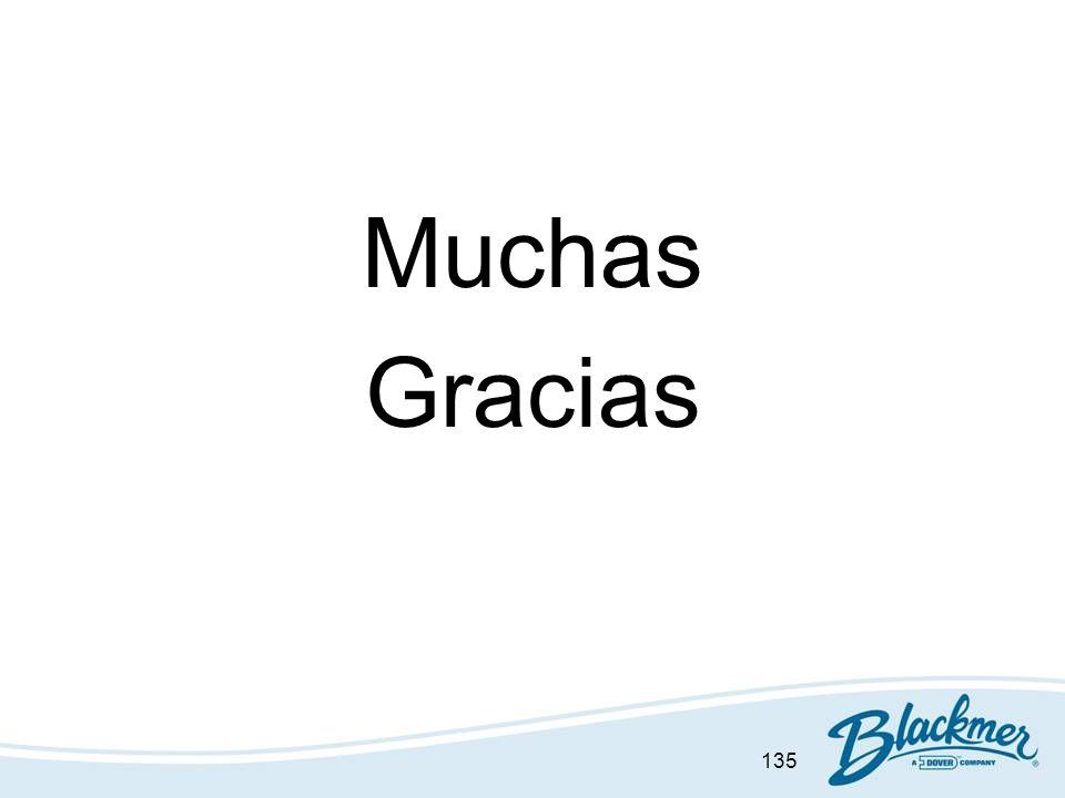 135 Muchas Gracias