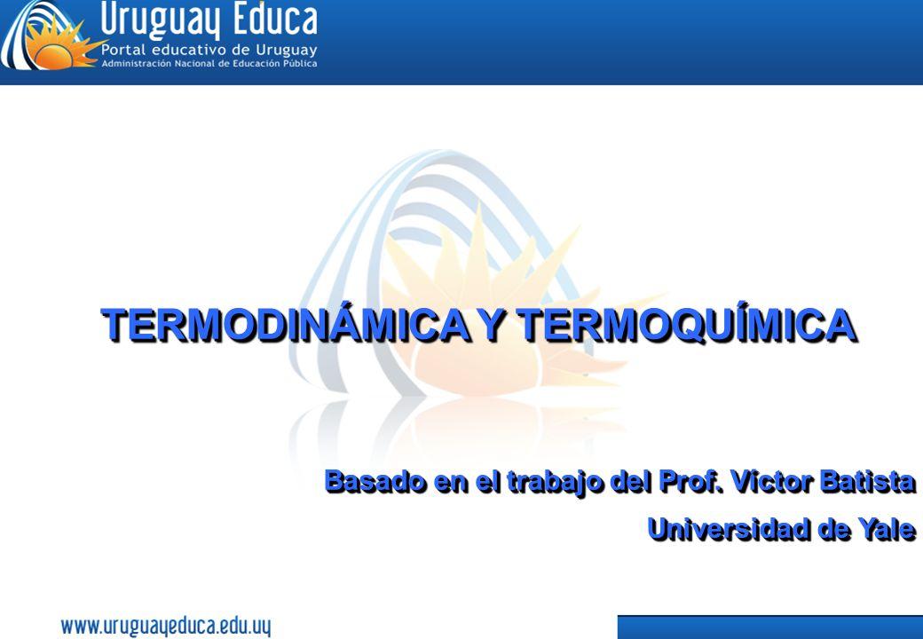 1 TERMODINÁMICA Y TERMOQUÍMICA Basado en el trabajo del Prof.