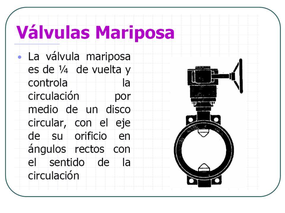 Válvula de grifo: Es el método más sencillo para regular el flujo de fluidos.