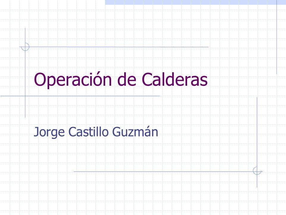 Operación de Calderas Jorge Castillo Guzmán