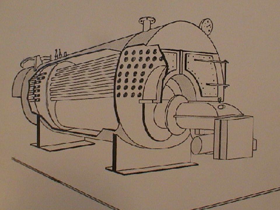 SET DE CONTROL EN CALDERAS DE VAPOR Control por nivel de Agua Control por encendido del Quemador Control por Presión de trabajo Válvula de Evacuación ELEMENTOS DE CONTROL