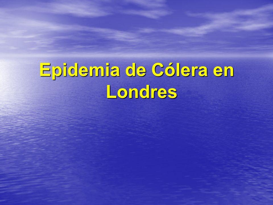 Epidemia de Cólera en Londres