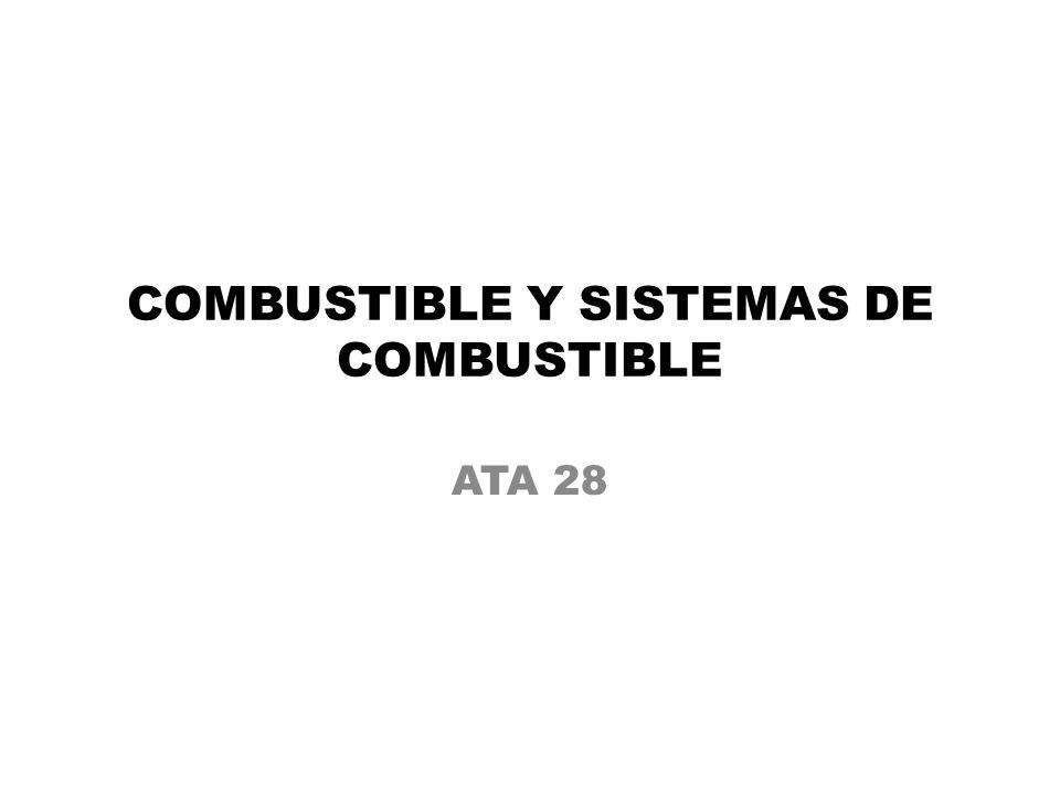 COMBUSTIBLE Y SISTEMAS DE COMBUSTIBLE ATA 28