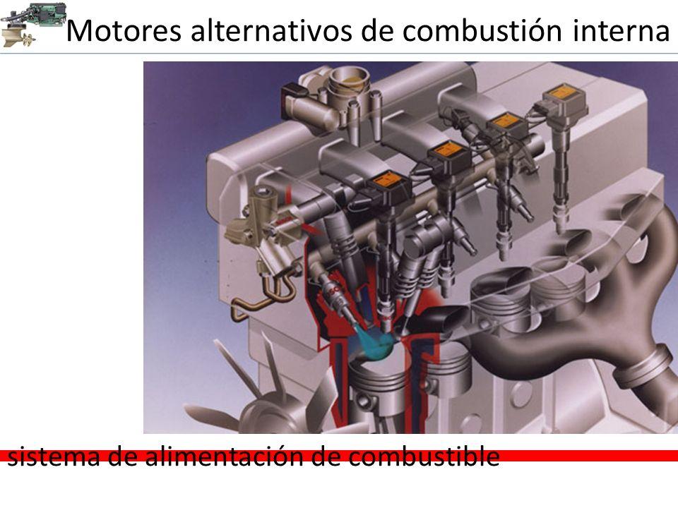 Motores alternativos de combustión interna sistema de alimentación de combustible