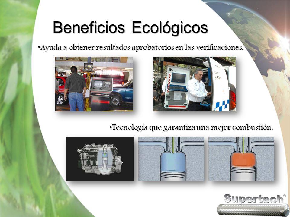 Beneficios de ahorro Ahorros medios del 15% en el consumo de combustible Ahorros medios del 15% en el consumo de combustible Sin Supertech Con Supertech Reducción en costos de mantenimiento Reducción en costos de mantenimiento