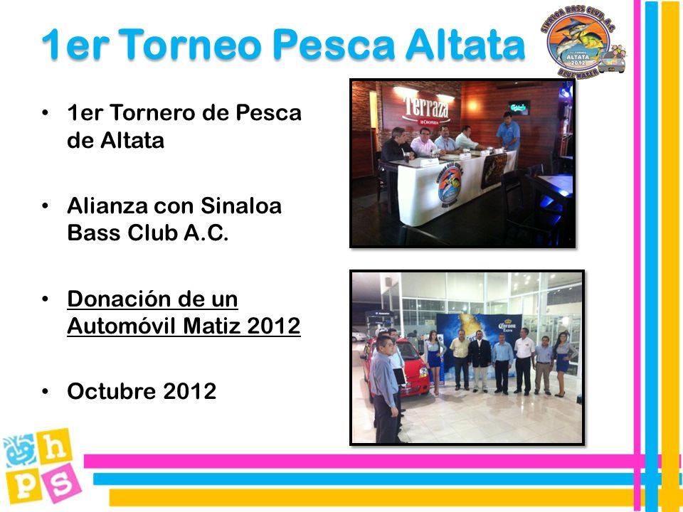 1er Torneo Pesca Altata 1er Tornero de Pesca de Altata Alianza con Sinaloa Bass Club A.C.
