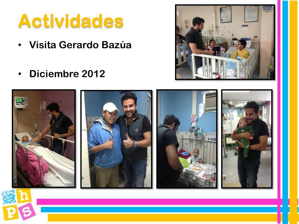 Visita Gerardo Bazúa Diciembre 2012 Actividades