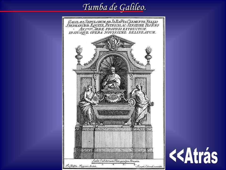 Tumba de Galileo.