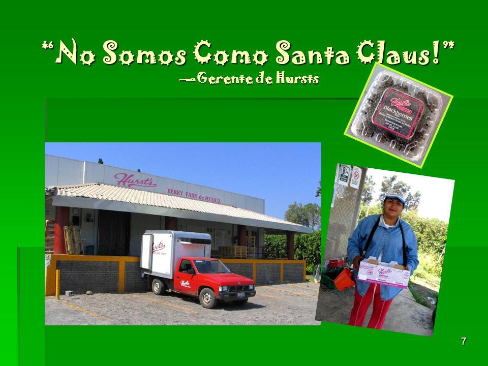 7 No Somos Como Santa Claus! Gerente de Hursts
