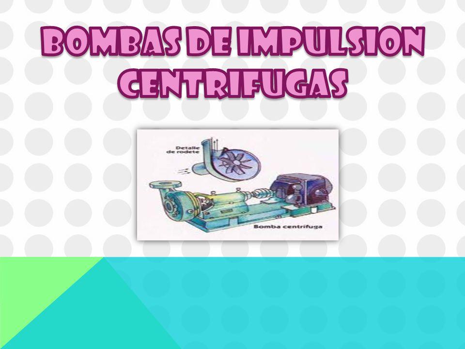 Una bomba centrífuga consiste en un rodete que produce una carga de presión por la rotación del mismo dentro de una cubierta.