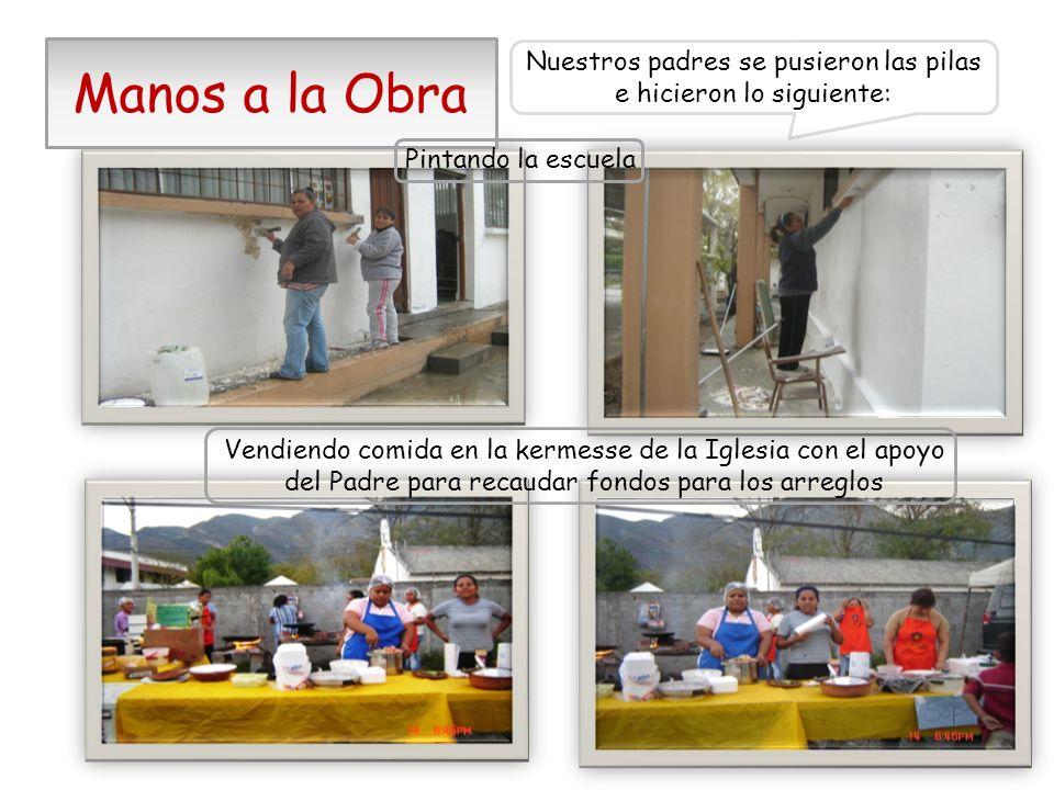 1.- Se remodelaron los baños y construyeron otros La Directora y la Asociación de Padres de Familia realizaron las siguientes gestiones: