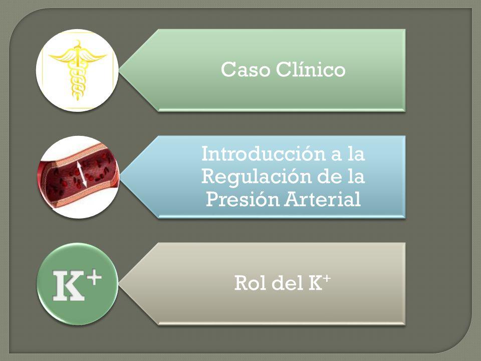 Caso Clínico Introducción a la Regulación de la Presión Arterial Rol del K +