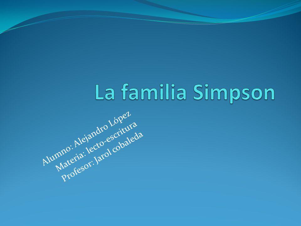Alumno: Alejandro López Materia: lecto-escritura Profesor: Jarol cobaleda