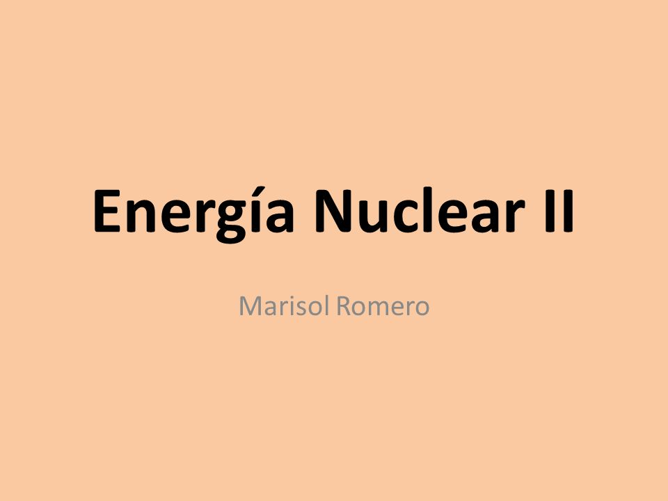Fisión Nuclear En la fisión nuclear el núcleo fisionable es impactado por un neutrón,PROCESO EN EL QUE NUCLEOS CON ALTO NUMERO MASICO SE DIVIDEN PARA DAR ORIGEN A DOS O MAS NUCLEOS CON NUMEROS MASICOS MENORES, MAS ESTABLES, POSEEN MAYOR ENERGÍA DE ENLACE Y EN EL PROCESO SE PRODUCE ENERGIA.fisión nuclear Si este proceso continua, ocurre una reacción en cadena, que es posible cuando se tiene una cantidad min de átomos fisionables llamada masa crítica la cual de no ser controlada, puede ocasionar una gigantesca explosión.