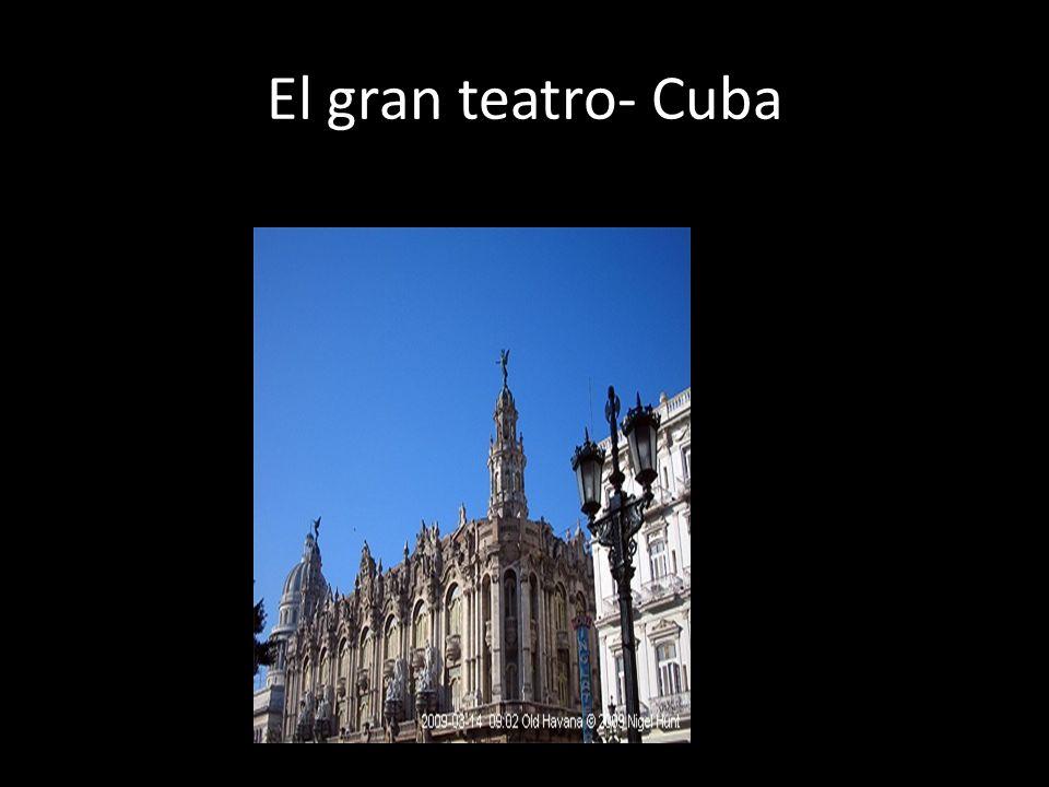 Varadero El gran teatro