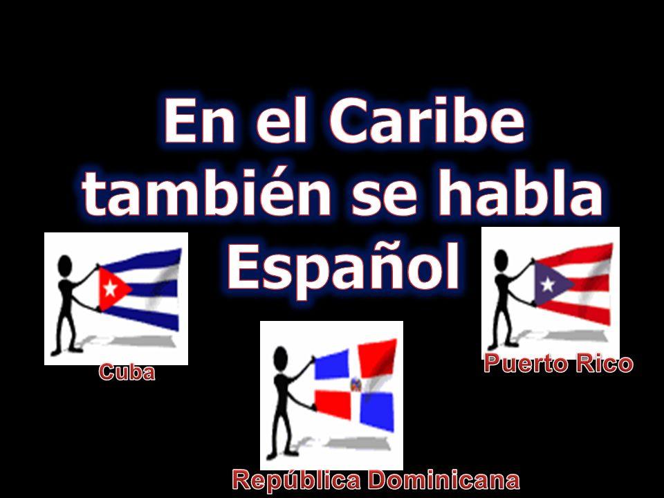 Cuba República Dominicana Puerto Rico El Caribe Sur América Centro América Gólfo de México Mar Caribe Océano Atlántico