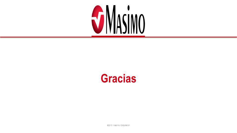 ©2013 Masimo Corporation Gracias
