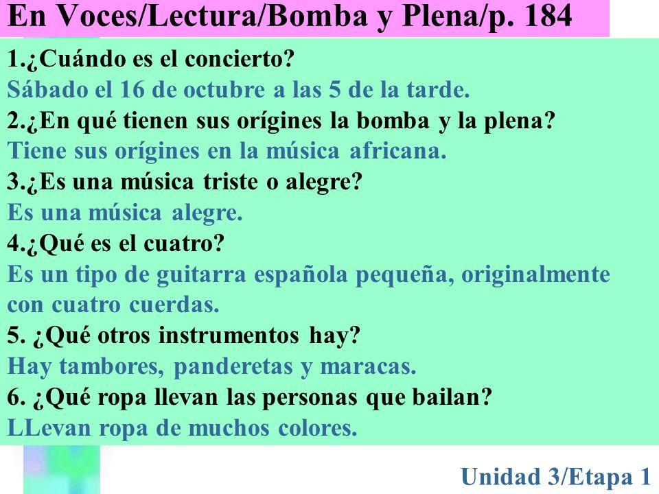 Resumen de la lectura Disc 7 Track 7Bomba y plena La bomba y la plena son danzas de Puerto Rico que tienen sus orígenes en África.