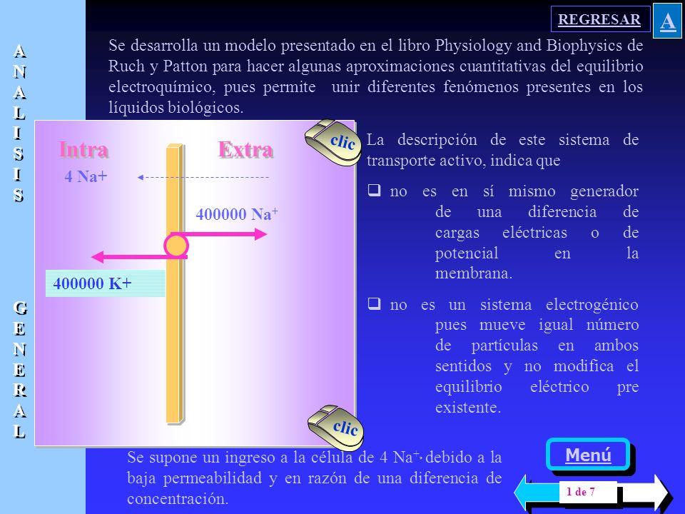 Esta ecuación permite analizar las condiciones de estado estacionario de los diferentes iones que se encuentran separados por una membrana que adquier