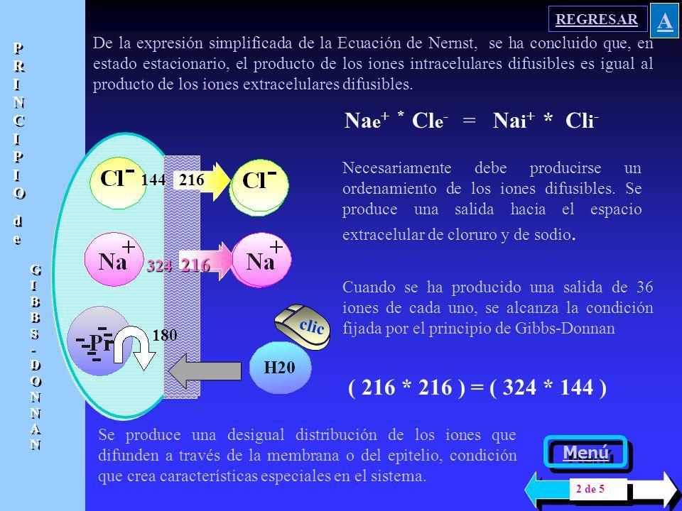 Al añadir 10 mM de proteínas, con 18 cargas negativas cada una, completan un total de 180 cargas negativas que deberán acompañarse por igual número de