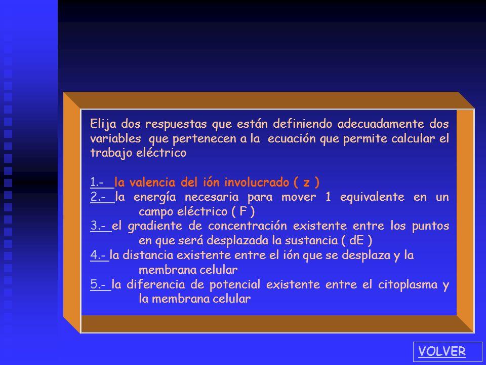 Elija dos respuestas que están definiendo adecuadamente dos variables que pertenecen a la ecuación que permite calcular el trabajo eléctrico 1.- 1.- l
