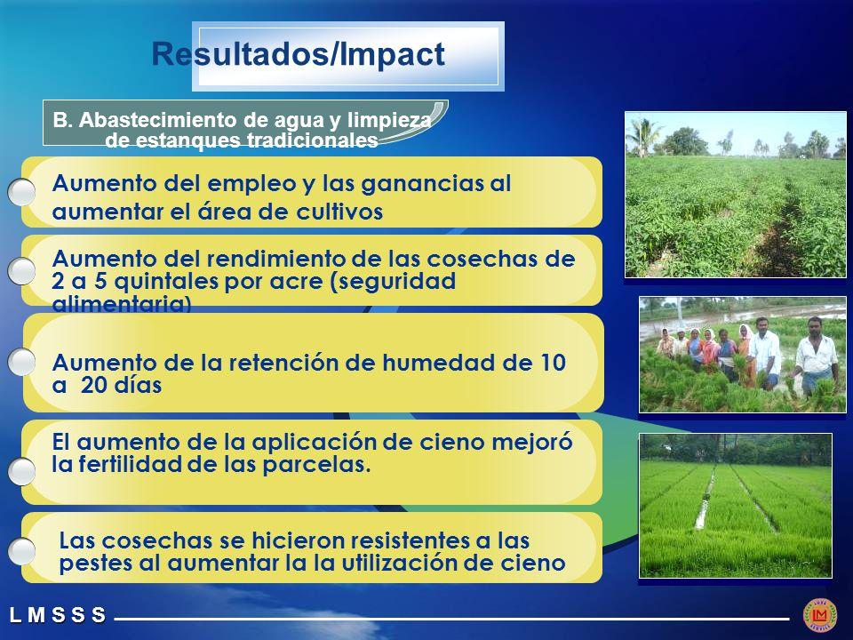 L M S S S Resultados/Impact B.