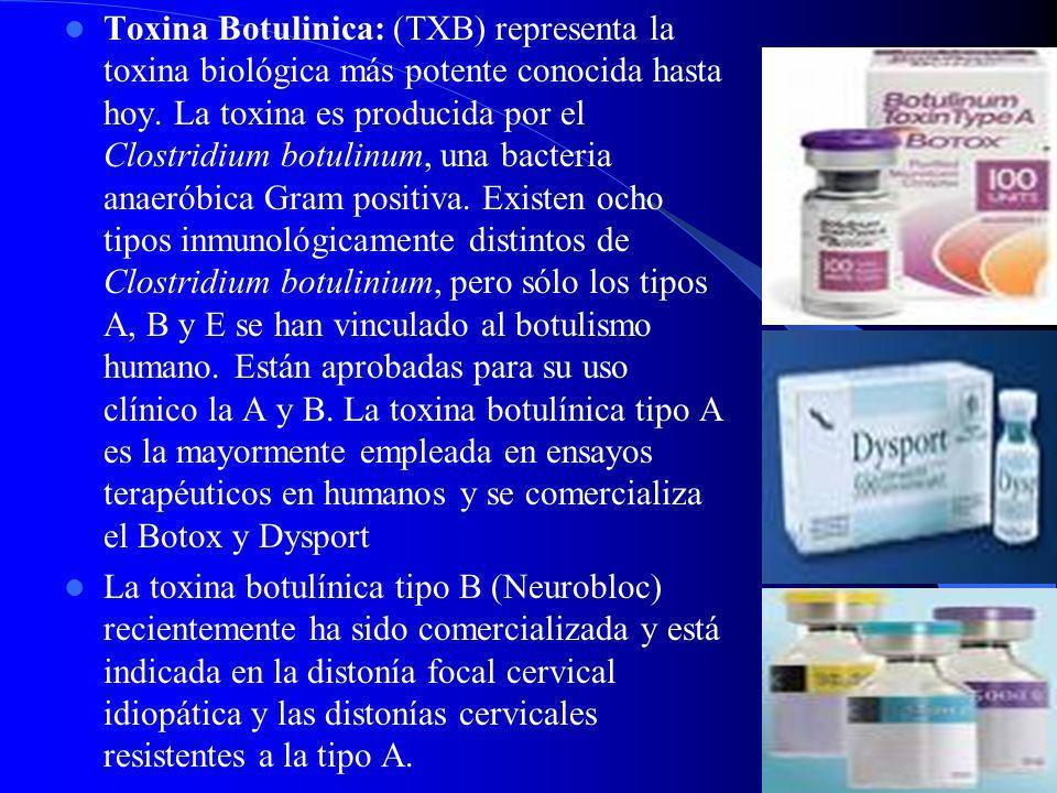 Tetrabenacina: Dosis de 25-100 mg/día. Por su mecanismo de acción puede producir como efectos secundarios parkinsonismo, otro efecto secundario es la