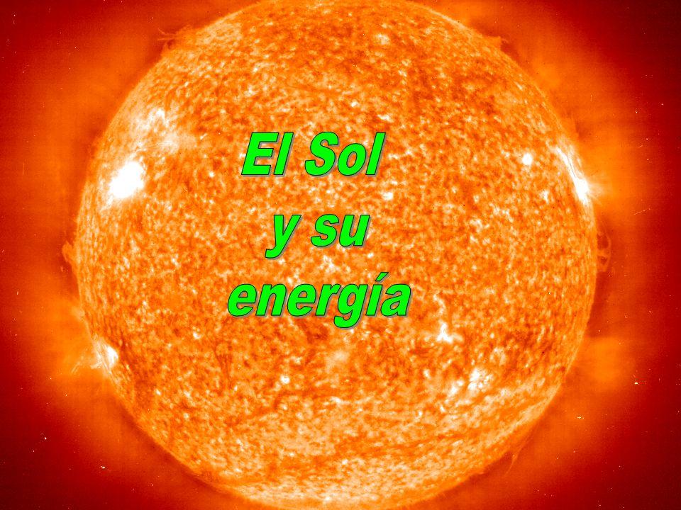 Los rayos gamma ( ) producidos en el núcleo solar, intentan salir al exterior.