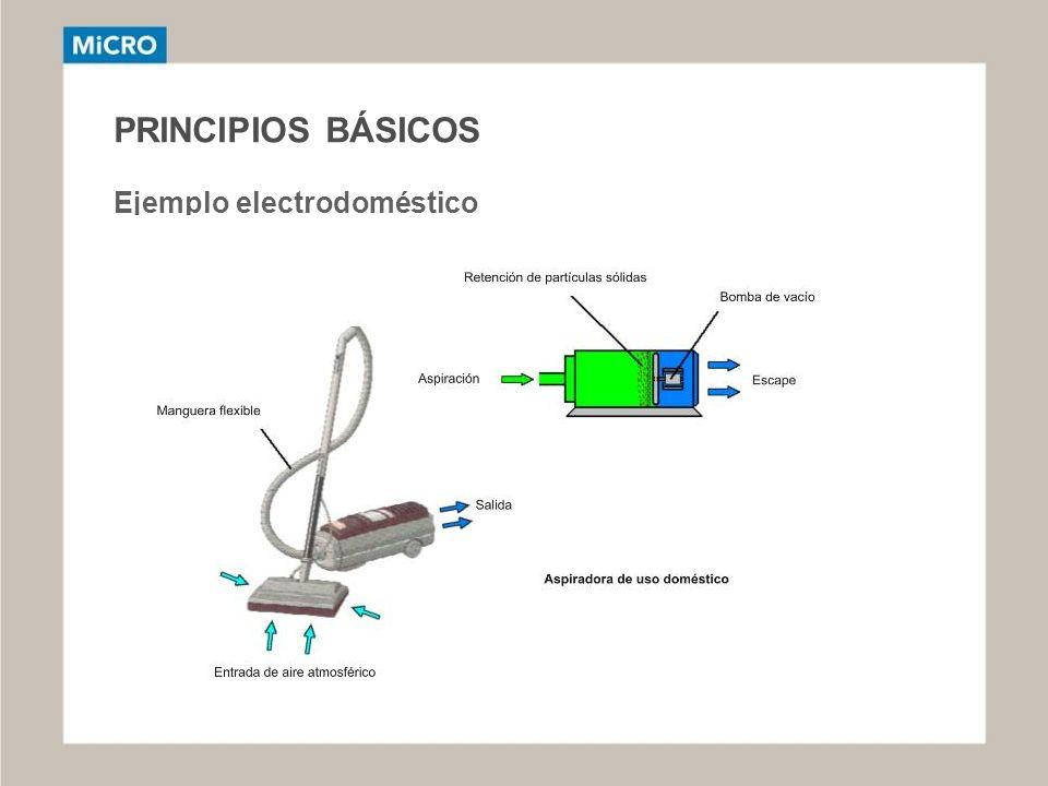 PRINCIPIOS BÁSICOS Ejemplo electrodoméstico