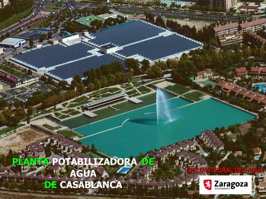 PLANTADE DE PLANTA POTABILIZADORA DE AGUA DE CASABLANCA CICLO INTEGRAL DEL AGUA CICLO INTEGRAL DEL AGUA