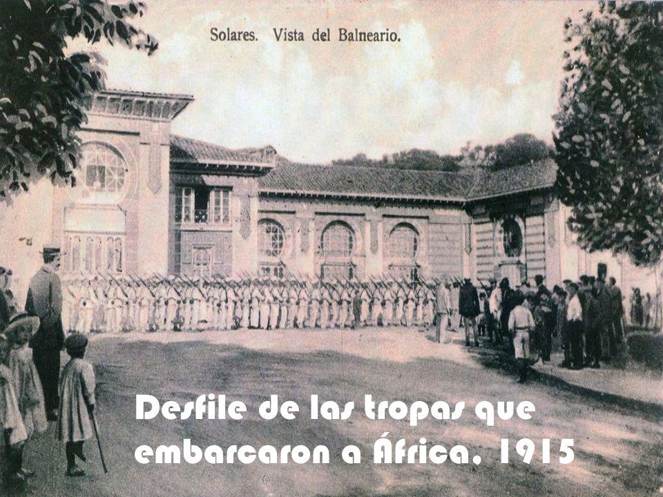 La antigua estación de Solares, donde llegaban ciudadanos de todos puntos de la región para comerciar, visitar o viajar por el pueblo de solares y los