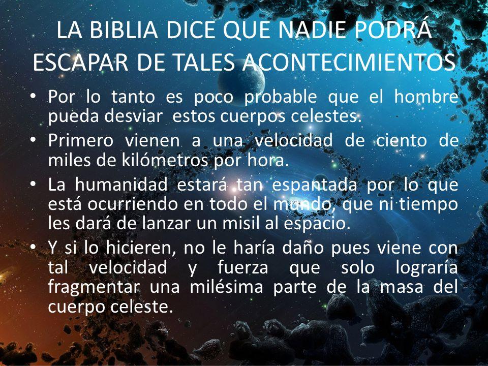 LA BIBLIA ES LA PALABRA INFALIBLE DE DIOS CUANDO ESTO SUCEDA LA IGLESIA NO ESTARÁ EN LA TIERRA. ¿CÓMO PUEDES SER SALVO DE ESTO QUE VIENE? CREE EN EL S
