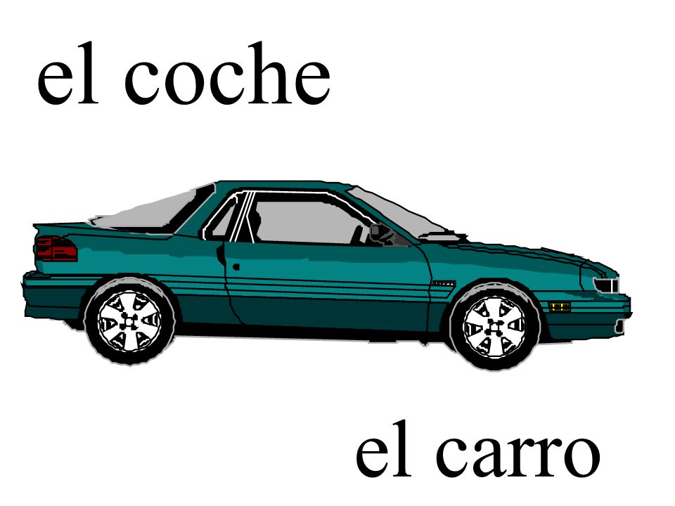 ¿Se acuerdan de los nombres de los medios de transporte? Can you remember the names of these means of transportation?