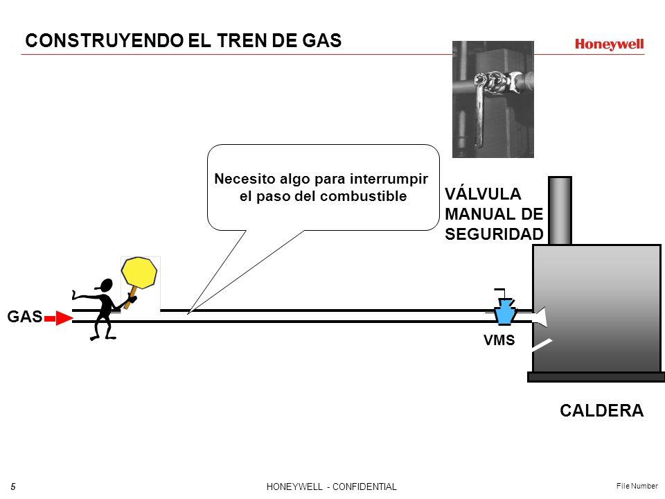 4HONEYWELL - CONFIDENTIAL File Number GAS CALDERA CONSTRUYENDO EL TREN DE GAS
